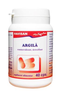 Argila capsule