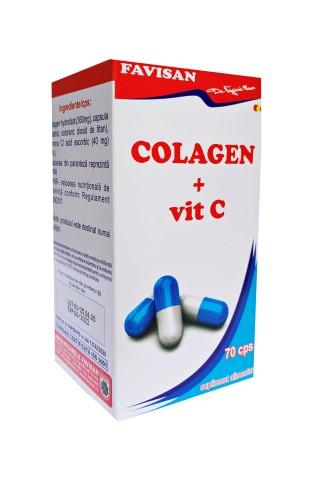 Colagen + vitamina C