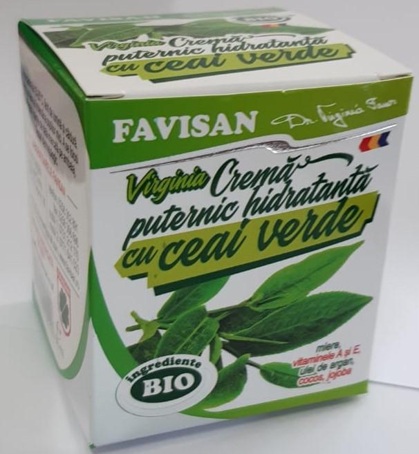 Crema puternic hidratanta cu ceai verde