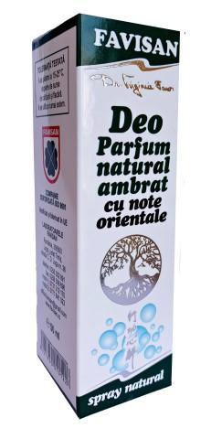Deo parfum natural ambrat