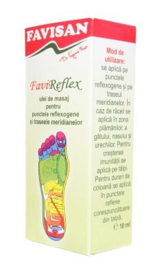 FAVIREFLEX ulei masaj reflexogen
