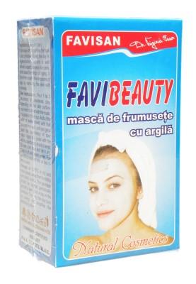 Favibeauty - masca cu argila