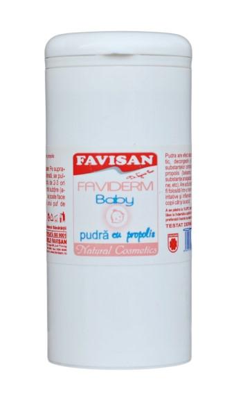 Faviderm baby pudra cu propolis