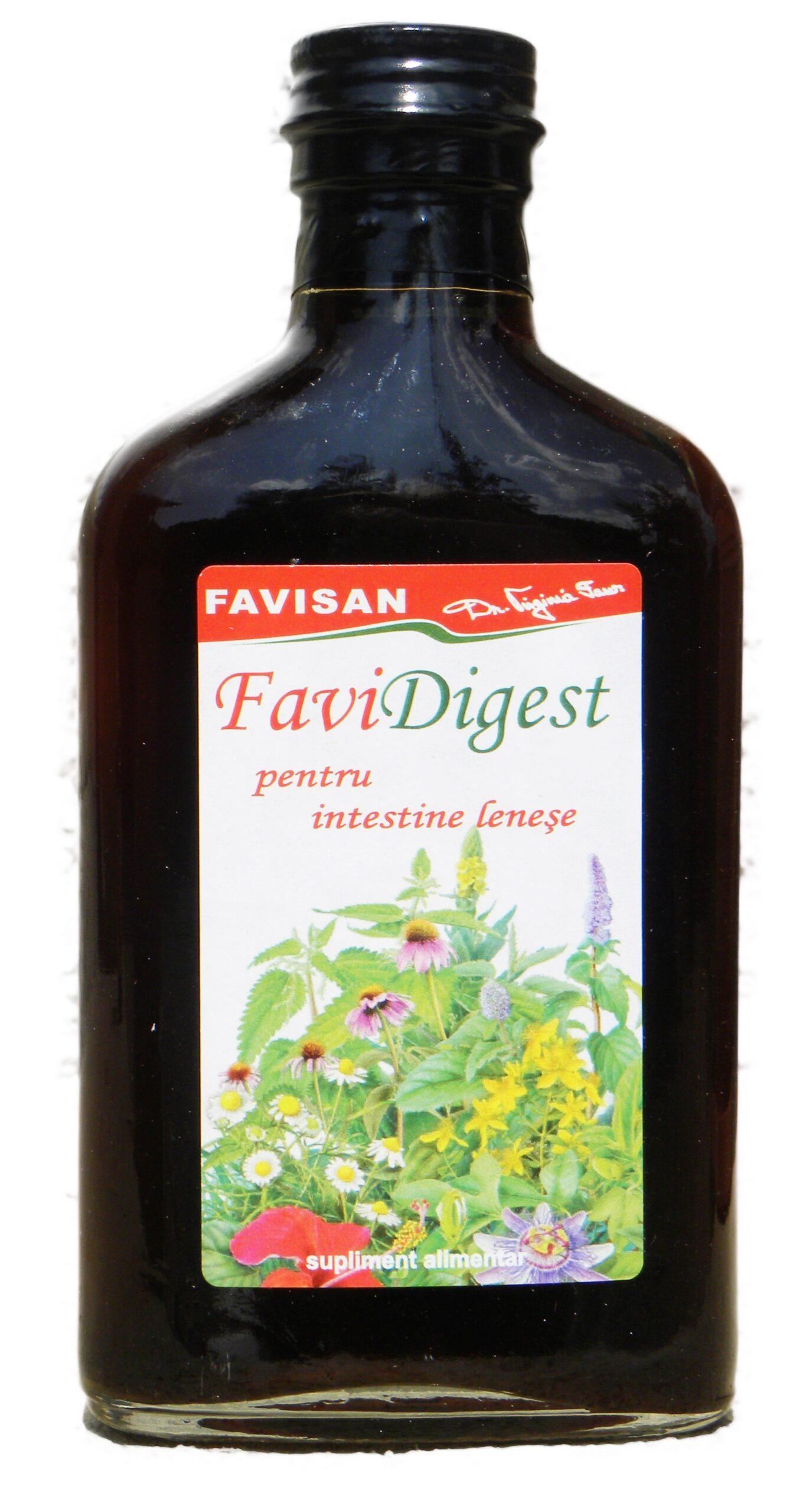 Favidigest tinctura din 38 de plante