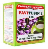 Favitusin 2 - ceai antibronsitic