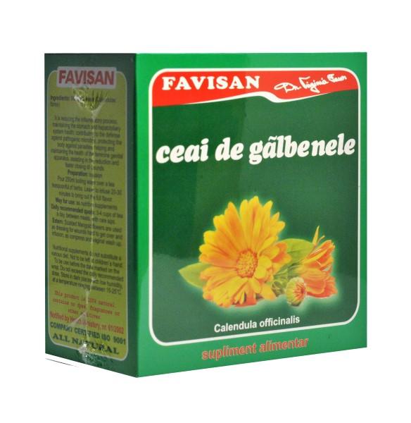 Galbenele ceai