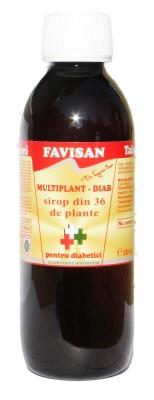 Multiplant sirop pentru diabetici