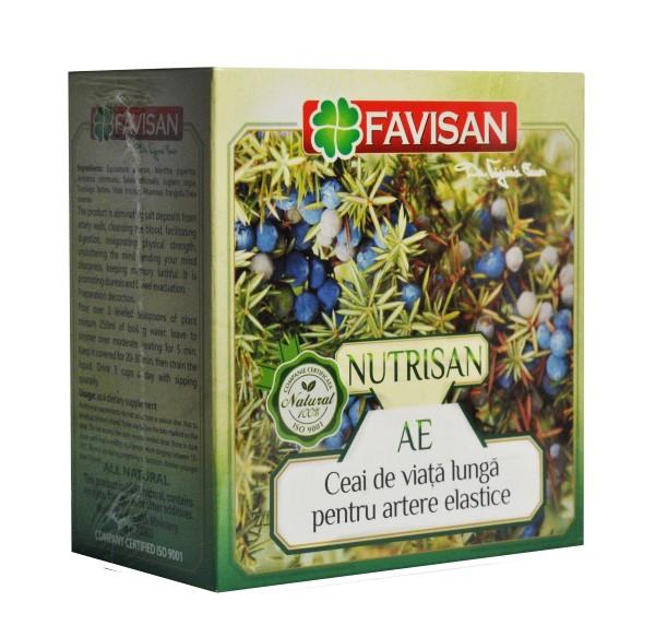 Nutrisan AE ceai pentru artere elastice