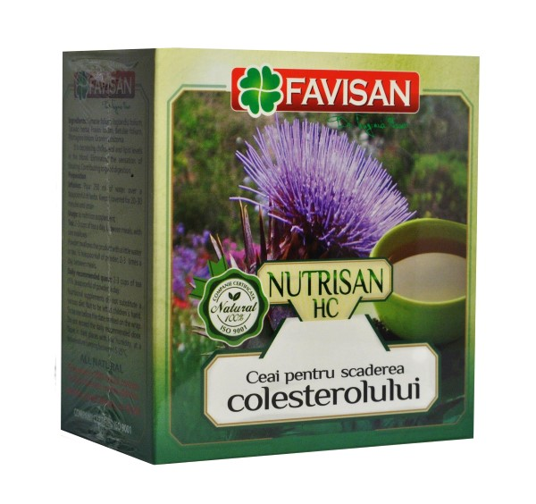 Nutrisan HC - ceai hipocolesterolemiant