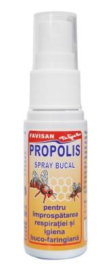 Propolis spray bucal