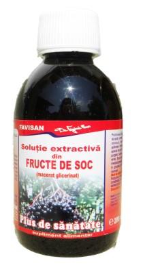 Solutie extractiva fructe de soc