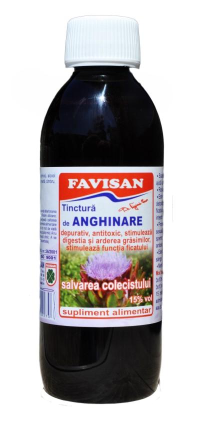Tinctura de anghinare 250 ml
