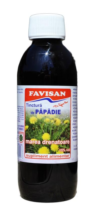 Tinctura de papadie 250 ml