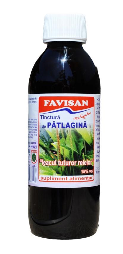 Tinctura de patlagina 250 ml