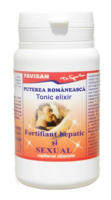 Tonic elixir Puterea romaneasca